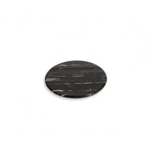 San Marmor Tablett rund