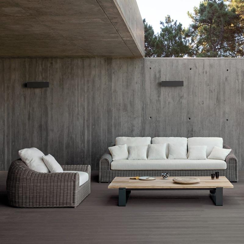 manutti gartenmöbel   river loungesessel, Garten Ideen