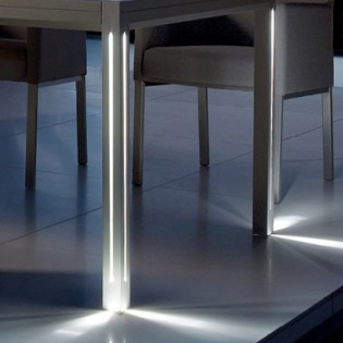 LED-Beleuchtung für Luna Couchtisch